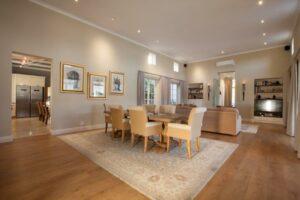 La Cabriere Villa Dining Room
